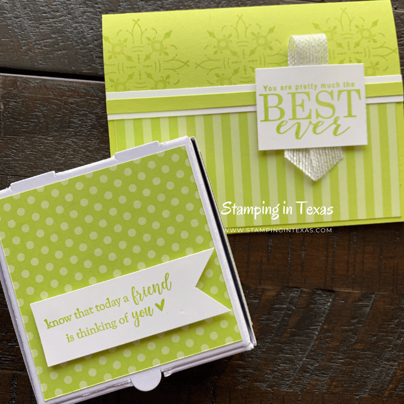 Lemon Lime Twist, 2017-2019 In-Colors Stampin' Up!